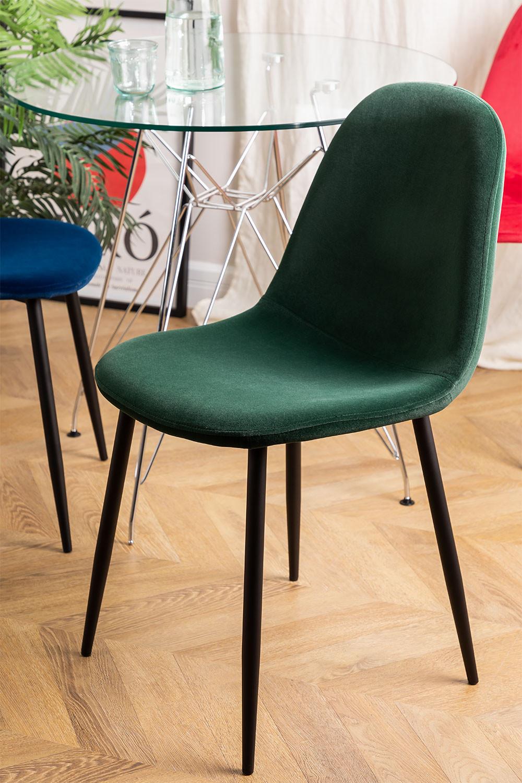 PACK 4 Glamm Velvet Chairs, gallery image 1