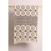 Plaid Cotton Blanket Viana, thumbnail image 1