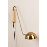 Ercsi Metallic Wall Lamp, thumbnail image 1
