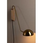 Ercsi Metallic Wall Lamp, thumbnail image 2