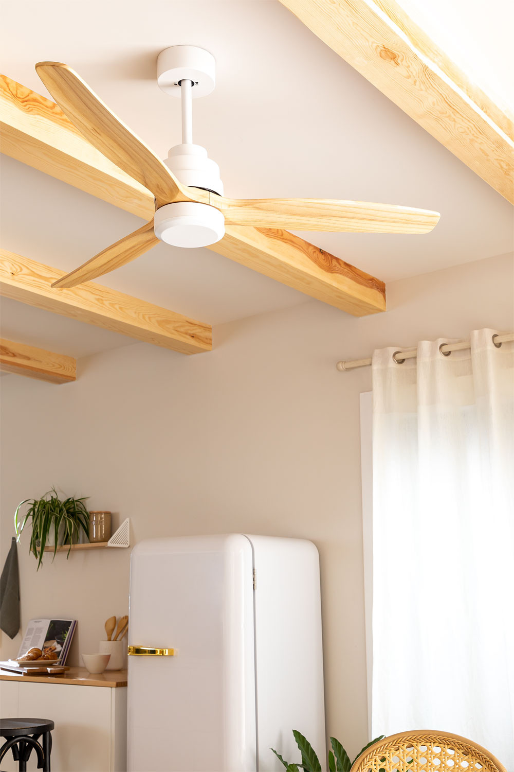 WINDSTYLANCE DC WHITE - Ceiling fan - Create, gallery image 1