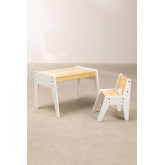 Blaby Kids Wood Table and Chair Set, thumbnail image 4