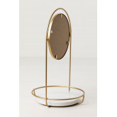 Table Mirror with Marble Tray Affra, thumbnail image 4