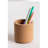 Round Cork Pencil Holder Skriv, thumbnail image 2