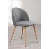 Linen Dining Chair Kana, thumbnail image 2