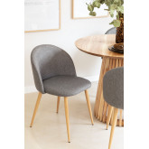 Linen Dining Chair Kana, thumbnail image 1