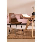 PACK 2 Glamm Leatherette Chairs, thumbnail image 5