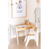 Blaby Kids Wood Table and Chair Set, thumbnail image 2
