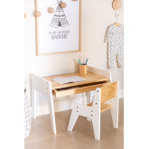 Blaby Kids Wood Table and Chair Set, thumbnail image 3
