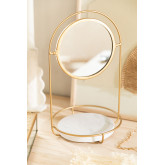 Table Mirror with Marble Tray Affra, thumbnail image 1