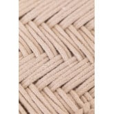 Low Stool in Macrame and Kiron Wood, thumbnail image 6