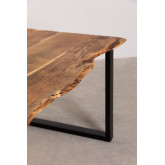 Rectangular Dining Table in Recycled Wood 210 cm Sami, thumbnail image 5