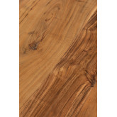 Rectangular Dining Table in Recycled Wood 210 cm Sami, thumbnail image 6
