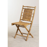 Yakku Bamboo Folding Dining Chair, thumbnail image 2