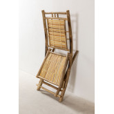 Yakku Bamboo Folding Dining Chair, thumbnail image 5
