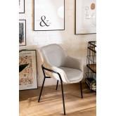 Leni Fabric Dining Chair, thumbnail image 1