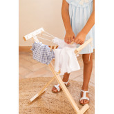Teo Kids Wooden Clothesline, thumbnail image 2