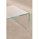 Transparent Glass Coffee Table (110x55 cm) Crhis, thumbnail image 5
