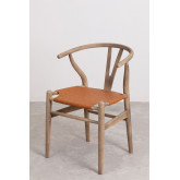 Uish Leatherette Dining Chair, thumbnail image 1