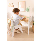 Blaby Kids Wood Table and Chair Set, thumbnail image 1