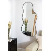 Metal Wall Mirror (110x67 cm) Astrid, thumbnail image 1