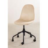 Glamm Velvet Desk Chair, thumbnail image 3