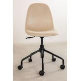 Glamm Velvet Desk Chair, thumbnail image 4