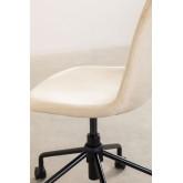 Glamm Velvet Desk Chair, thumbnail image 5