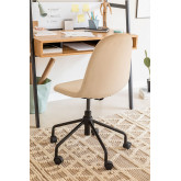 Glamm Velvet Desk Chair, thumbnail image 2