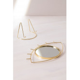 Table Mirror in Metal Lubin, thumbnail image 5