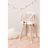 Wooden High Chair Dil Kids, thumbnail image 1
