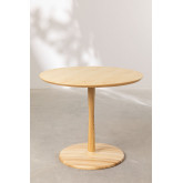 Round Dining Table in Tuhl Ash Wood, thumbnail image 2