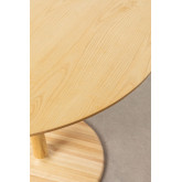 Round Dining Table in Tuhl Ash Wood, thumbnail image 3