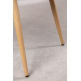 Velvet Dining Chair with Armrests Kana, thumbnail image 6