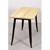 Rectangular Dining Table in Wood and Steel (120x60 cm) LIX, thumbnail image 4