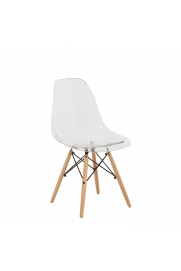 Transparent Brich Scand Chair