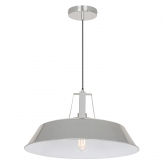 Brushed Workshop Lamp, thumbnail image 1