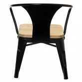 Wooden Mini Lix Kids Chair with Armrests , thumbnail image 3