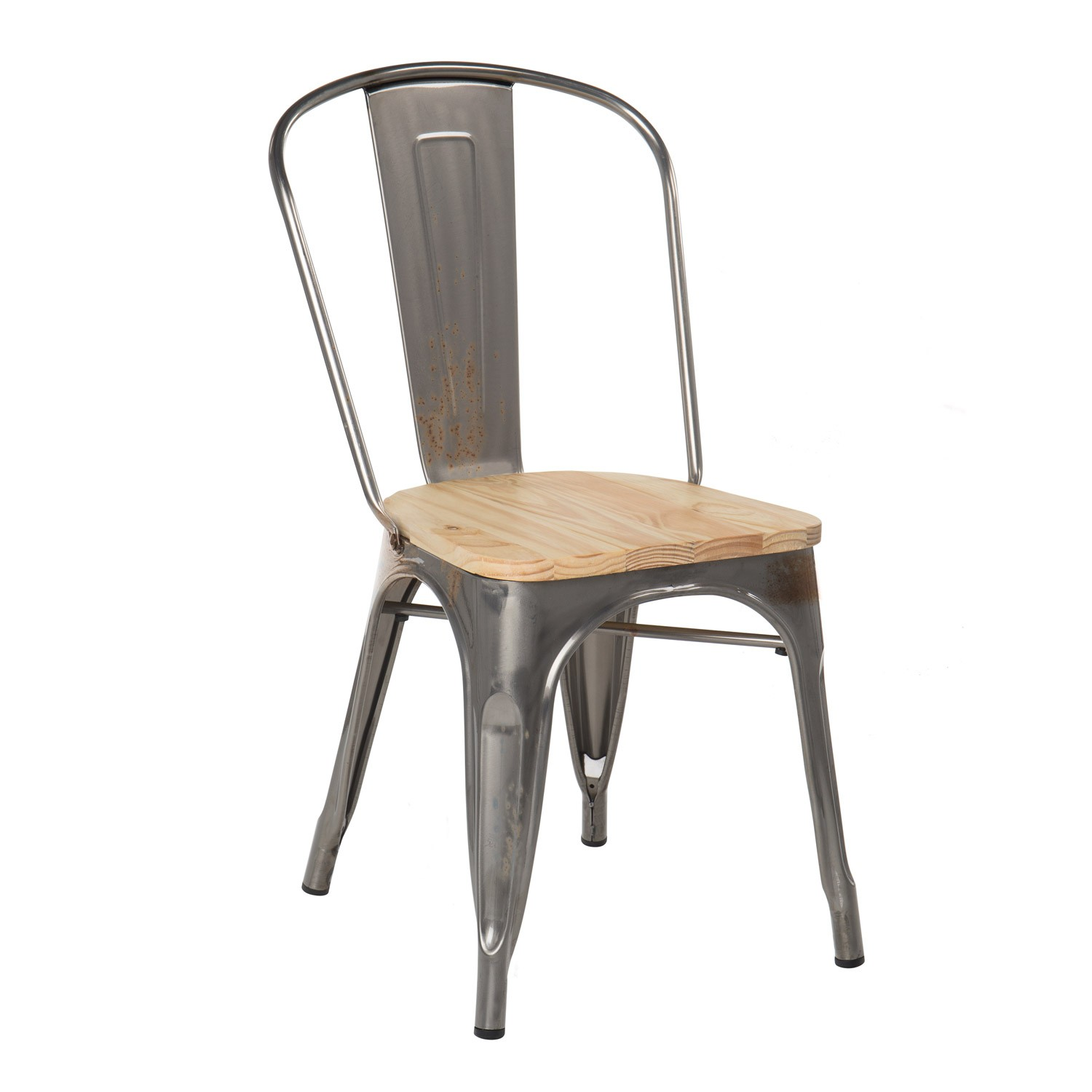 Brushed Wooden LIX Chair, gallery image 1