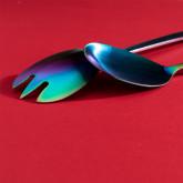 Letu Salad Cutlery in Iridiscente Matte , thumbnail image 3