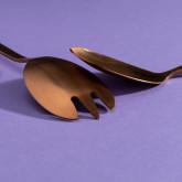 Letu Salad Cutlery in Metallic Matte, thumbnail image 3