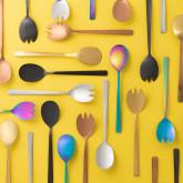 Letu Salad Cutlery in Metallic Matte, thumbnail image 4