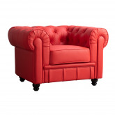 Chester Sytle Leatherette Sofa Charly, thumbnail image 1