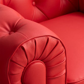 Chester Sytle Leatherette Sofa Charly, thumbnail image 3