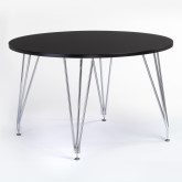 Angy Metallic Table Ø120, thumbnail image 1