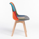 Nordic Chair Upholstered Patchwork, thumbnail image 520550