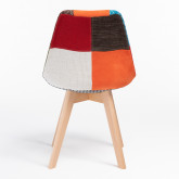 Nordic Chair Upholstered Patchwork, thumbnail image 520554