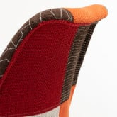 Nordic Chair Upholstered Patchwork, thumbnail image 520556