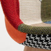 Nordic Chair Upholstered Patchwork, thumbnail image 520558