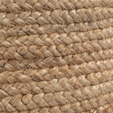 Round Pouffe in Jute Fime, thumbnail image 6